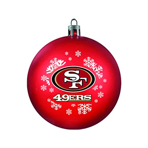 NFL San Francisco 49ers Shatterproof Ball Ornament