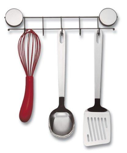 Better Houseware 2408 Magnetic Hook Rack, Stainless