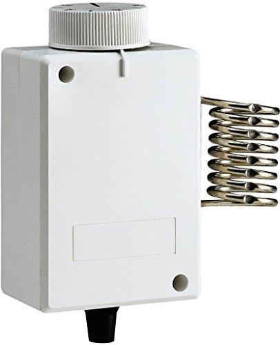 Perry, 1TCTB088, Thermostat für Gewächshaus mit Sensor, weiß