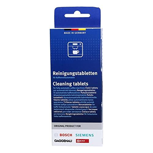Bosch/Siemens 00311969 Reinigungstabletten für Kaffeevollautomaten, 10 Stück