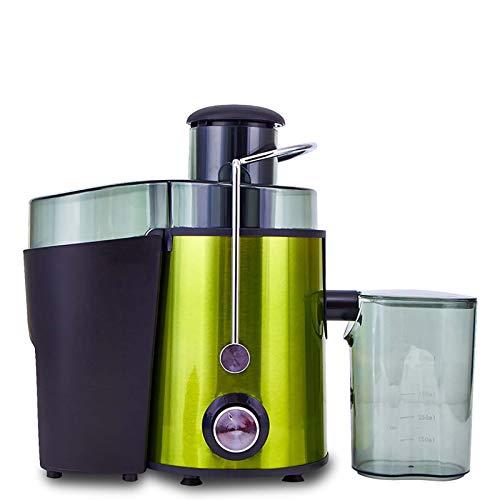 DHE Exprimidor Multifuncional, máquina de Fruta del hogar, máquina de separación de Jugo de Verduras, Fruta Verde, protección de la Seguridad y el Interruptor de Mando