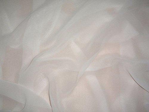 Tela de gasa 100% seda blanca 100 % sc/44 blanco