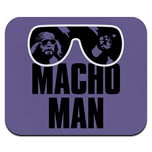 WWE Macho Man Classic Logo Low Profile Thin Mouse Pad Mousepad