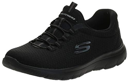 Skechers Damen 12980 Sneaker, Schwarz, 37 EU