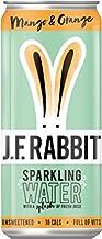 JF Rabbit – Agua con sabor brillante con zumo fresco – Vitaminas D y B – Todo natural, sin azúcar añadido, sin edulcorantes, menos de 15 kcal por lata. (frambuesa y limón 250 ml x 12 unidades)