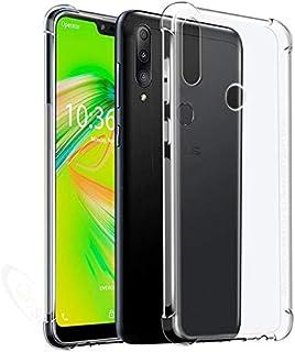 Capa Anti Shock Asus Zenfone Max Shot ZB634, Cell Case, Capa Anti-Impacto, Transparente