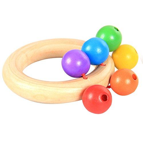 WeiMay giocattoli per bambini,campana a mano bambino sonagli afferrare il gioco di gioco dentizione precoce giocattolo educativo musicale per bambini piccoli (stile 2)
