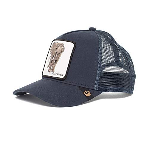 Goorin Bros. Baseball Cap Elefant blau Gr. Einheitsgröße, blau