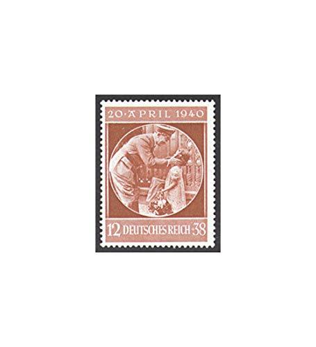 Goldhahn Briefmarken Deutsches Reich Nr. 744
