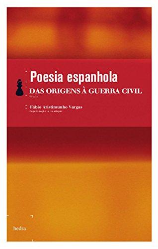 Poesia espanhola - das origens à Guerra Civil