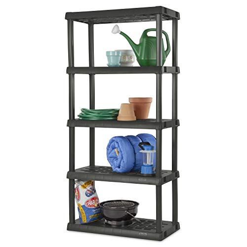 Our #1 Pick is the STERILITE 01553V01 Garage Shelving