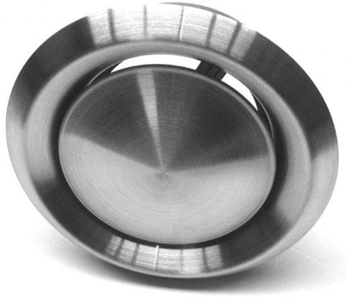 Domodul ® Tellerventil Edelstahl V2A, Anschluß:DN100 - Edelstahl natur