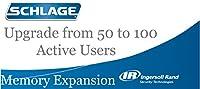 Schlage HandPunchメモリ従業員制限拡張アップグレードhp-1000and hp-1000XL 50 To 100