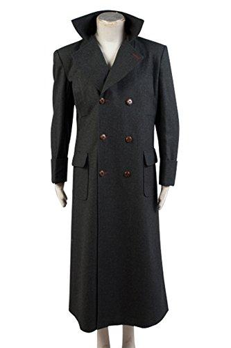 Fuman Sherlock Holmes Cape Coat Cosplay Kostüm - Wolle Version M
