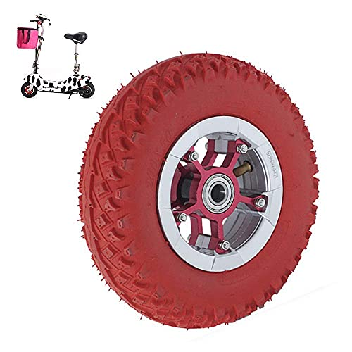 Neumáticos para Scooter eléctrico, Ruedas neumáticas de 8 Pulgadas, neumáticos Antideslizantes Resistentes al Desgaste, diámetro Interior del rodamiento Opcional, Adecuado para Scooters eléc