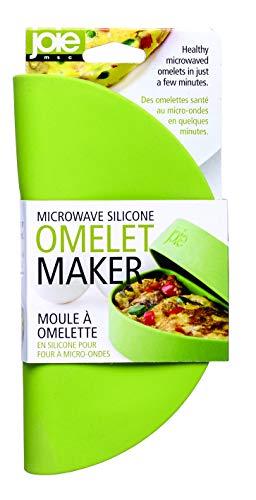 Joie Kitchen Gadgets 44044 Joie Mikrowellen-Omelet-Maker, Antihaft-Silikon, Grün