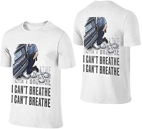 LXZ Masturbator kann ich nicht atmen schwarz Kleid, Materia T-Shirt, eine Vielzahl von Stilen kann ich nicht atmen, Gratulation an George Freud, der Sieg Wird Letztendlich uns gehören L weiß