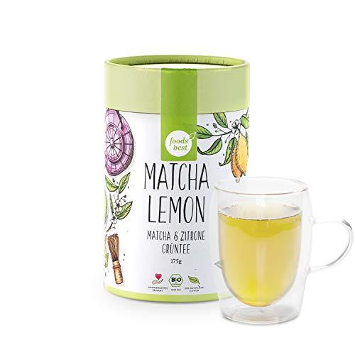 MATCHA LEMON | Original Japan Matcha | 100% Bio | foodsbest®, Größe:175 GRAMM