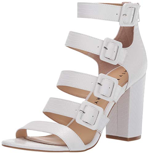 Katy Perry womens The Lizette Heeled Sandal, White, 11 M US