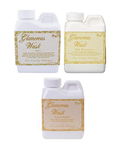 Tyler Glamorous Wash Laundry Detergent 4oz Gift Set (Diva, French Market, & High Maintenance)