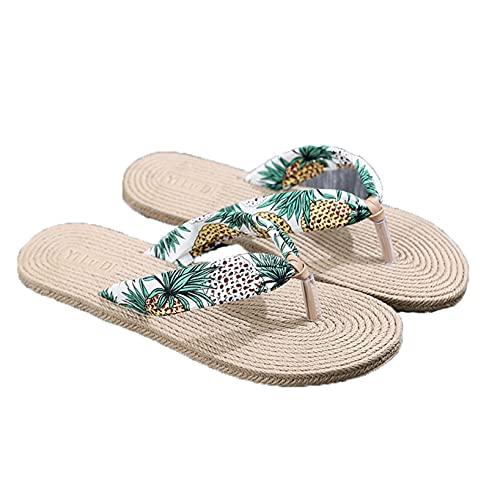 Ladies Slippers Flat Beach Sliders Simple Outdoor Summer Bohemia Quick dry House Home Slide Pool Women Beach Flip Flop