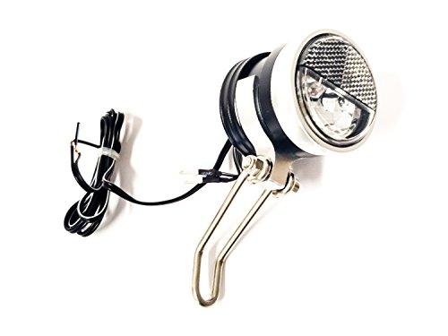 LED-Scheinwerfer Secu Evolution S mit Halter ca.40 Lux f. Nabendynamo (1 Stück)