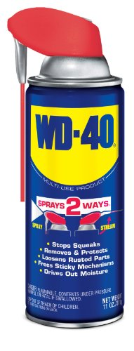 WD-40 Multi-Use Product - Multi-Purpose Lubricant with Smart Straw Spray. 11 oz. (1 Pack)