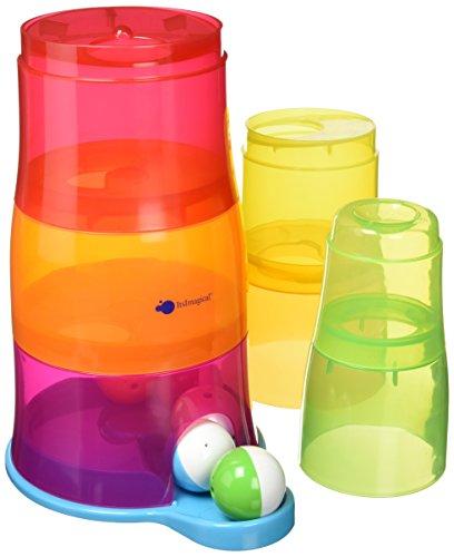itsImagical- Torre de Cubos encajables con Bolas de Colores (Imaginarium 87316)