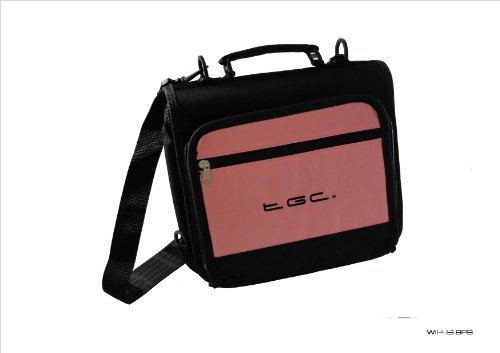 Baby Roze & Zwart TGC Draagtas voor Asus Eee Pad Transformer Prime 32GB Tablet