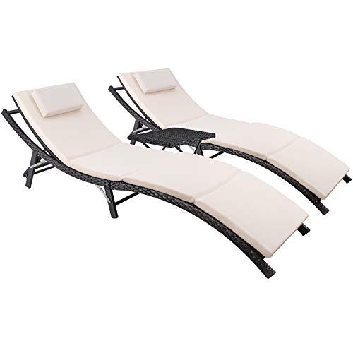 Devoko Chaise Lounge Sets