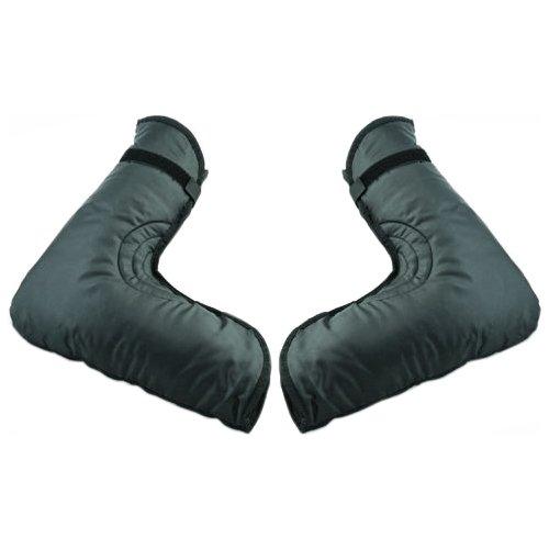Raider BCS-HB Black ATV/Snowmobile Handlebar Gauntlet Gloves
