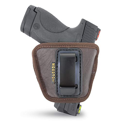 IWB and Outside Gun Holster - by Houston - Brown ECO Leather...