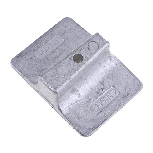 B Blesiya Anodenplatte Anodenplattenbasisplatte für 9,9 PS, 15 PS, 25 PS, 30 PS 1995-2002 Yamaha Außenborder Motor
