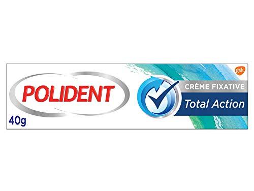 classement un comparer Polydent – Crème de fixation – Pour prothèses partielles ou complètes – Action totale – 40 g