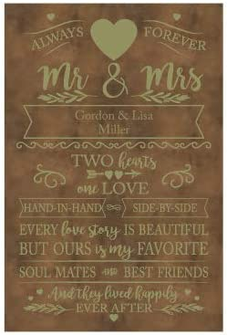 Plaquemaker Customized Love Story Leather 海外限定 Canvas Choose お得なキャンペーンを実施中 from - M