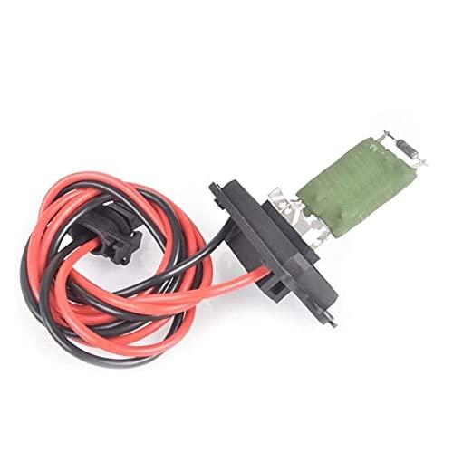 JINGDONG Jakedong Calentador Blower Resistor Fit para Renault Megane Scenic-Grand MK II 2 Calentador Motor Ventilador Ventilador Resistencia