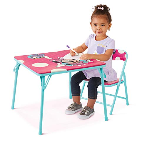 Minnie Jr Activity Table Set with One Chairs