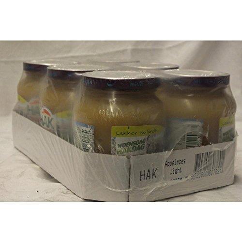 HAK Appelmoes Light 6 x 350g Glas (Apfelmus - leicht)