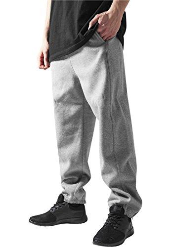 Urban Classics Sweatpants, Pantaloni sportivi Uomo, Grigio (Grey), Medium