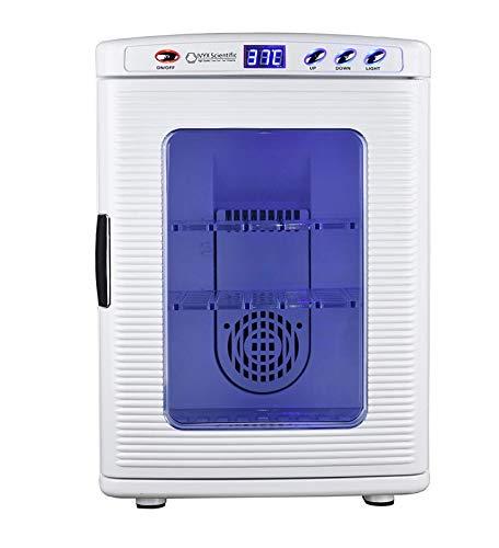 ZJWD Labor Inkubator, Kühlen Und Heizen 2-60C, 12V / 220V, 60W, 25L / 0,88 Cu, Klein, Sie Können Es Mit Sich Führen