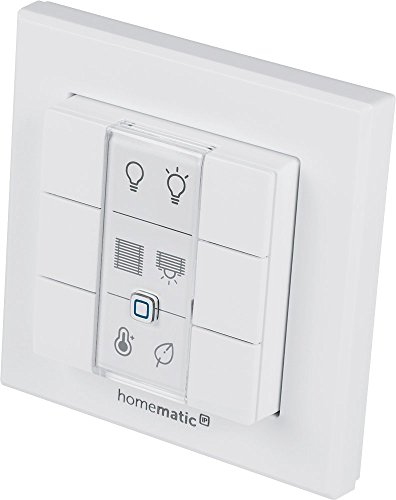 Homematic IP Wandtaster – 6-fach, 142308A0