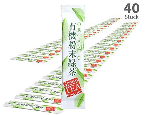 tea4chill 40Stk Japan Matcha Sticks to go. Für unterwegs und speziell für Matcha-Shaker und Matcha-Flaschen. Premium Qualtiät.