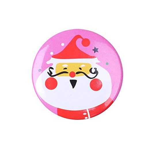 Springlinges Cute Kid Boy Girl Pin Cartoon Pattern Costume Christmas Brooch (Santa Claus