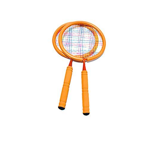 Ainstsk Mini raqueta de tenis, para interiores y exteriores, divertido y duradero, juego de raqueta de tenis con bolsa de almacenamiento, juguete para niños y niñas