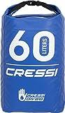 Cressi Dry Bag, Sacca/Zaino Impermeabile per attività Sportive Unisex Adulto, Blu, 5 LT