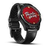 Ticwatch Pro Montre connectée Smartwatch avec cardiofréquencemètre, Affichage...