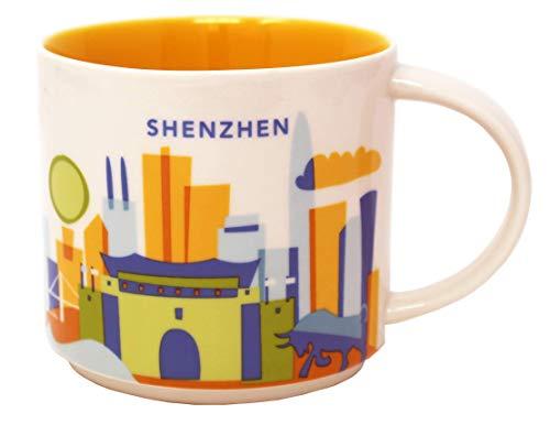 """Starbucks Shenzhen Tasse mit Aufschrift \""""You Are Here\"""", 400 ml"""