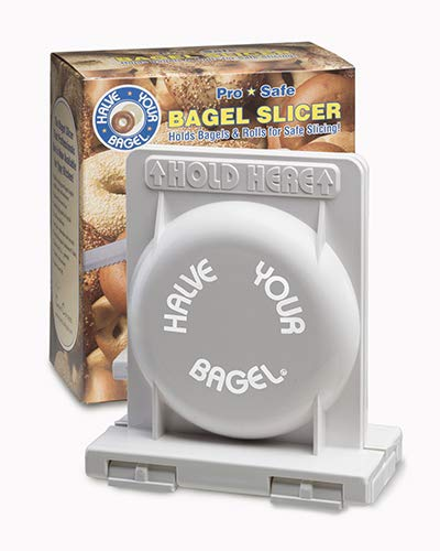 HalveYourBagel - The Best Bagel and Bread Slicer
