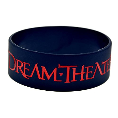 North King Silicone Bracelet Dream Theater Hand Band Dream Theatre Orchestra silicone wrist band Star Hand Ring 1-inch bracelets set of 2 pieces