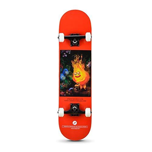 Valhalla Anfänger Straße Skateboard Feuer Monster Skateboards Cruiser 31 Zoll
